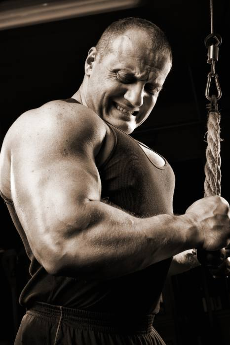 Tricep pushdowns for bigger arms