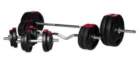 Vinyl Tri Grip Complete Weight Set 100kg