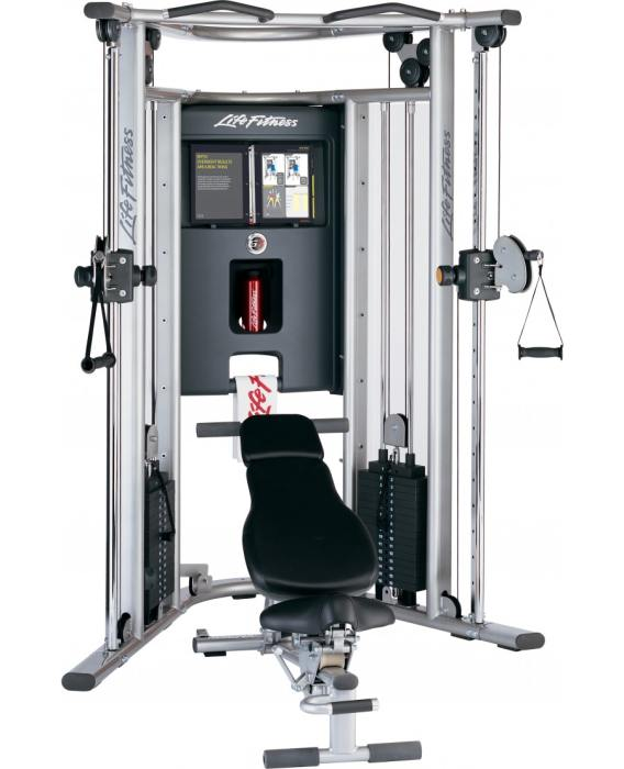 Life Fitness G7 Cable Motion Gym With Bench