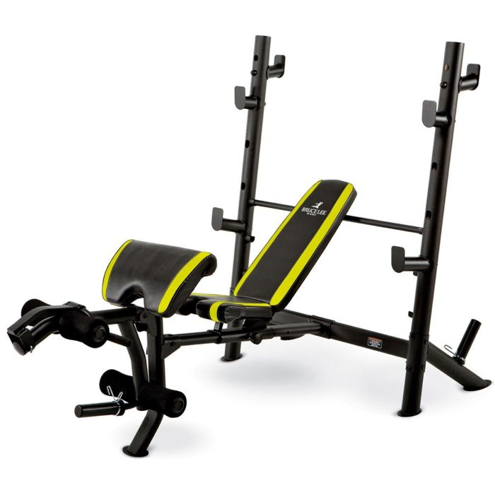 Marcy Bruce Lee Signature Weight Bench Mid Width