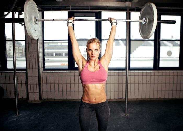 Overhead press for bigger shoulders