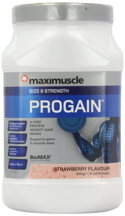 Maximuscle Progain 800g