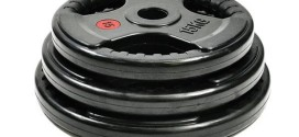 10kg Bodymax Olympic Rubber Radial Weight Plates