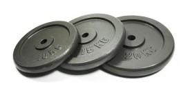 25kg Bodymax Standard Hammertone Weight Plates