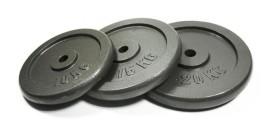 5kg Bodymax Standard Hammertone Weight Plates x 4
