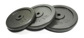 7.5kg Bodymax Standard Hammertone Weight Plates