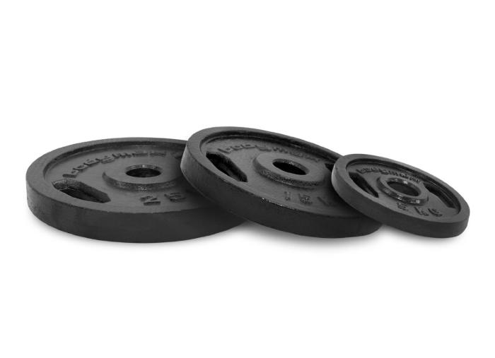 Bodymax Olympic Cast Iron Weight Plates 1.25kg