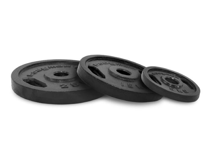 10kg Bodymax Olympic Cast Iron Weight Plates x 2