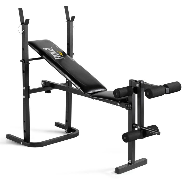 Everlast Foldable Weight Bench with Leg Developer