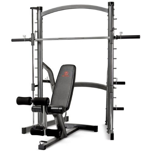 Marcy SM-1000 Home Gym Smith Machine & Weight Bench