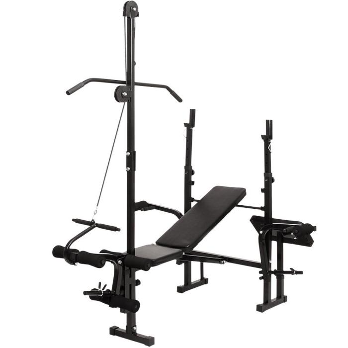 Physionics HNTLB10 Multifunctional Weight Bench