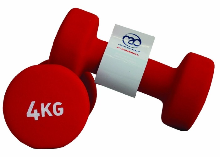 Fitness-Mad Neo Dumbbells Pair (1kg to 5kg)