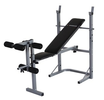 Confidence Fitness Adjustable Weights Bench