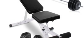 Physionics HNTLB03 Weights Bench and Weight Set