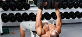 Superset workout for chest and back