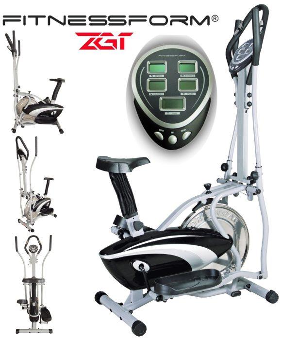 Fitnessform Fitness Pro ZGT 2-In-1 Elliptical Bike
