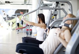 Combination Training combines strength and cardio workouts