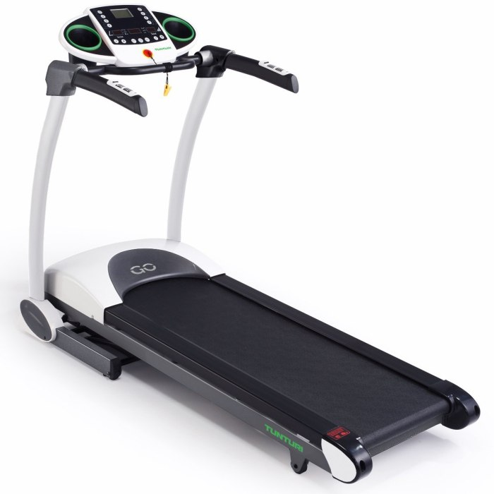 Tunturi Go Run 20 Motorised Folding Treadmill